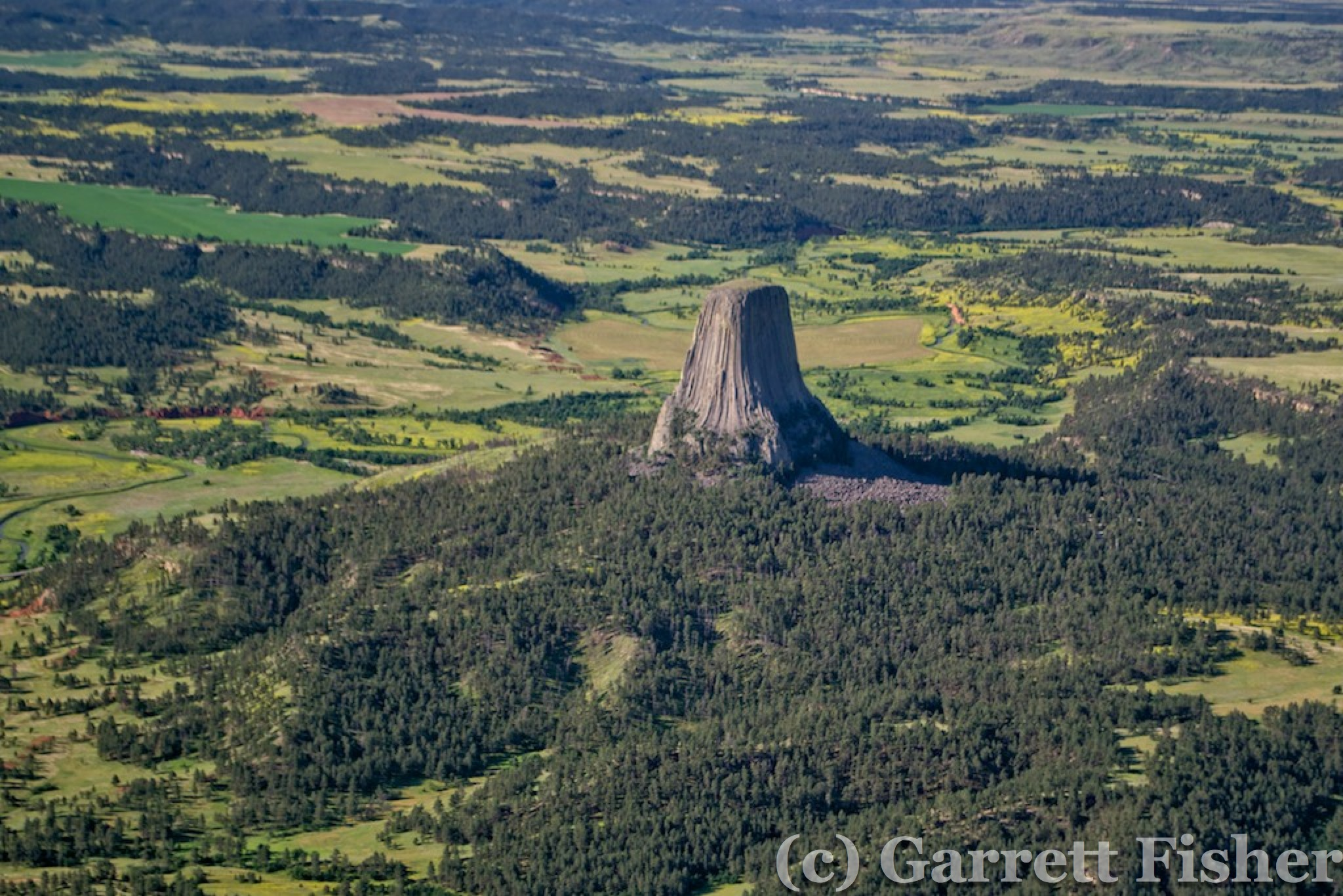 Devils Tower Wy >> Flight: CO to MT to NC: Day 2 & 3: Buffalo, WY to ...