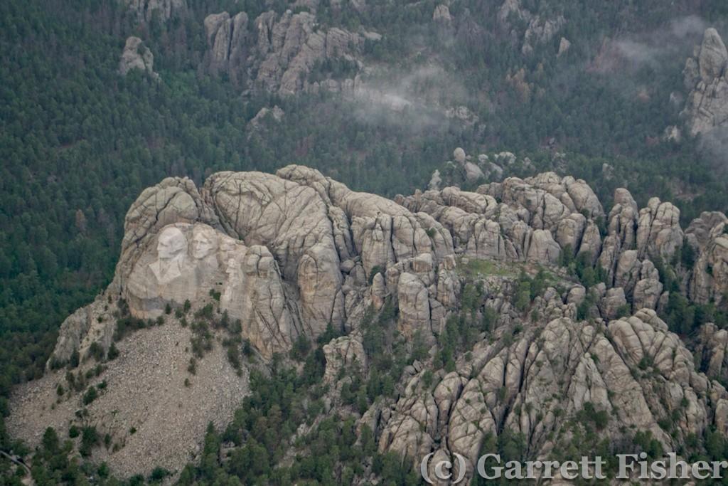 Mt Rushmore - Aerial