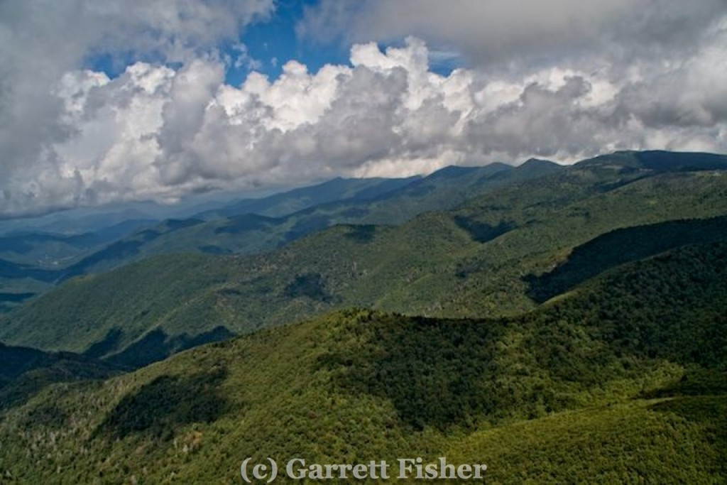Black Mountain Range - South to North