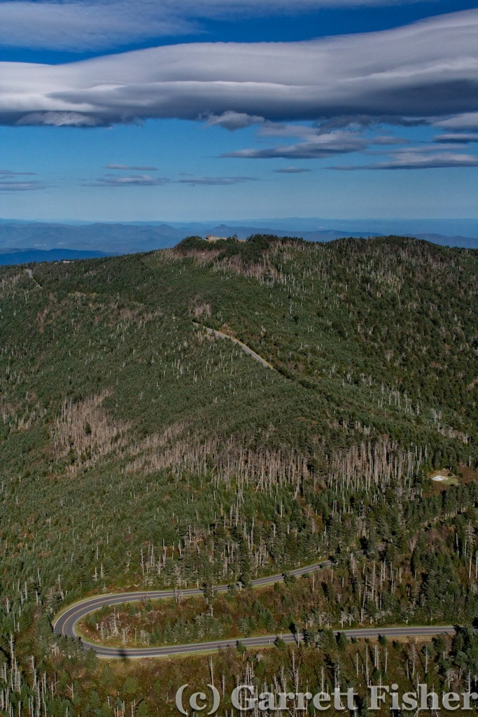 25-Mt Mitchell with Lenticularis