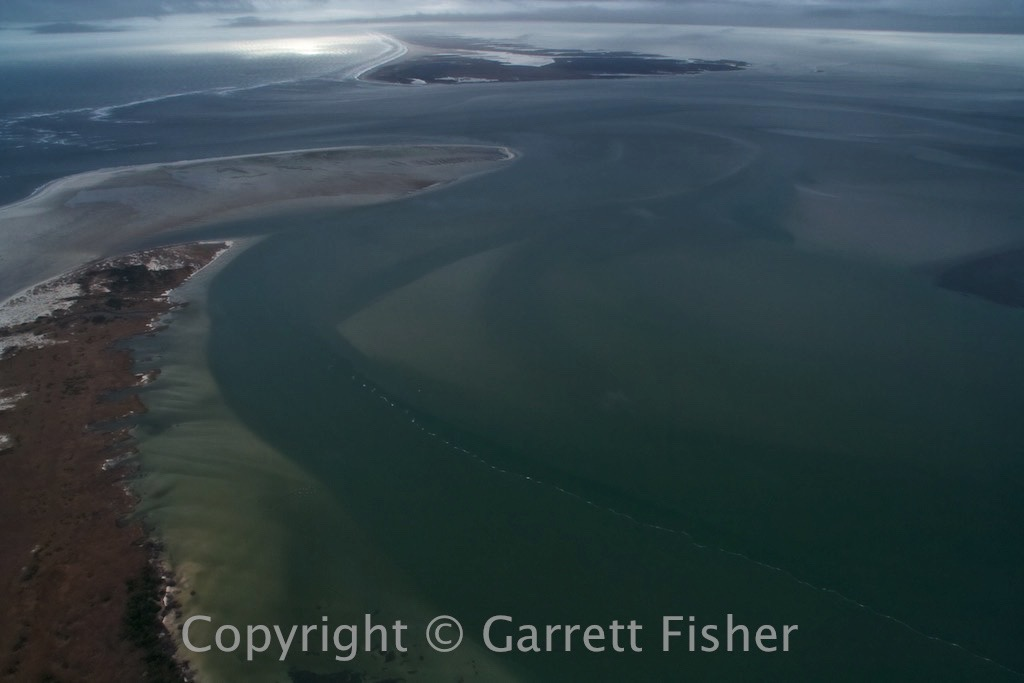 6-Ocracoke Inlet, Portsmouth Island in Distance