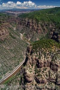 Glenwood Canyon - V