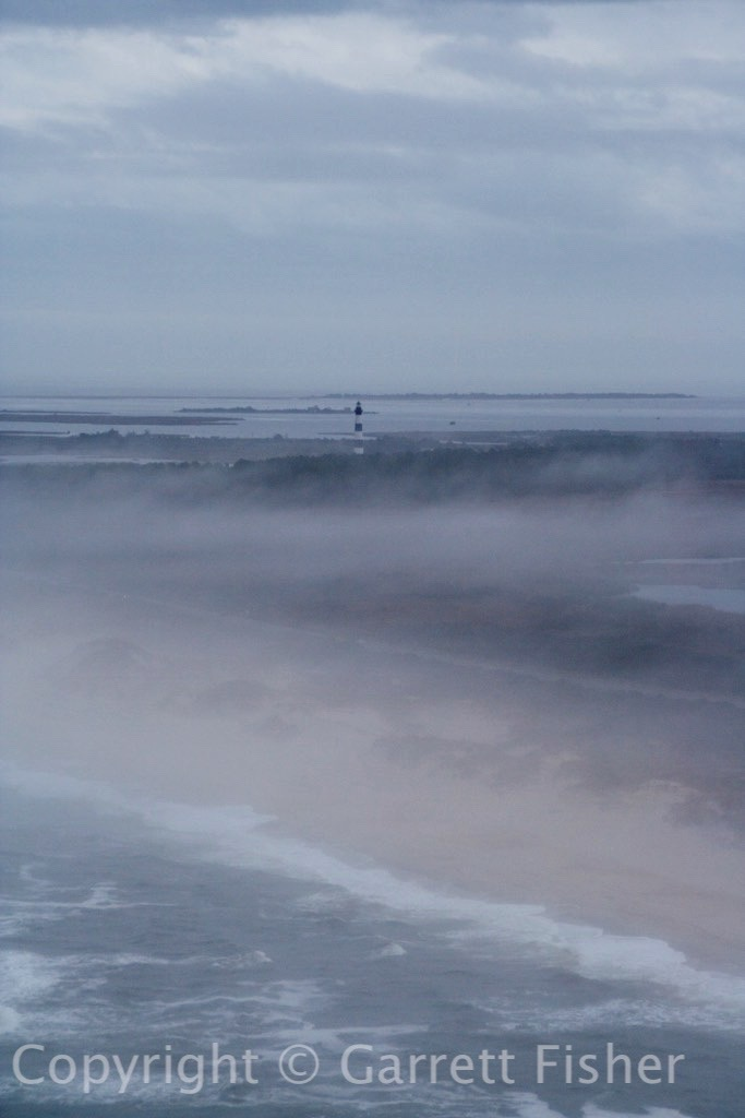 3-Bodie Island Lighthouse in Fog