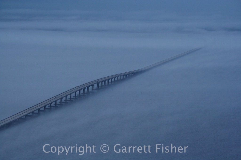 5-Roanoke Sound Bridge with Fog