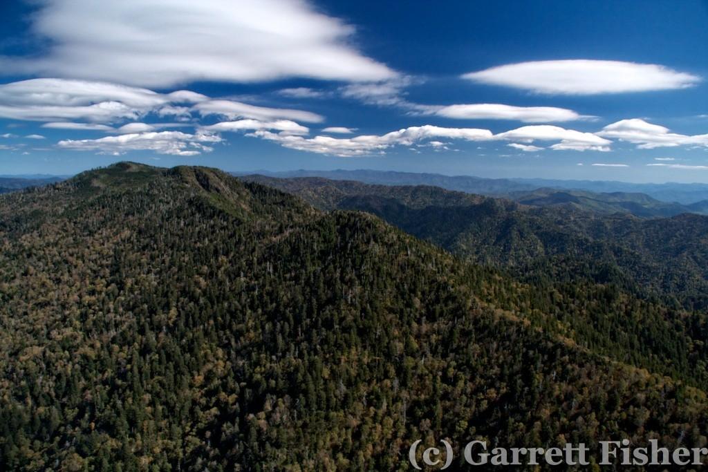18-Lenticularis Clouds, Mt Le Conte - GSMNP