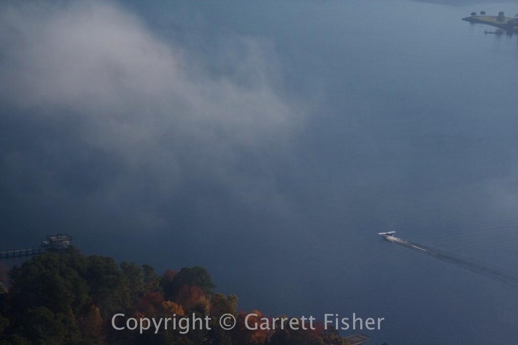 2-LKN Seaplane Takeoff