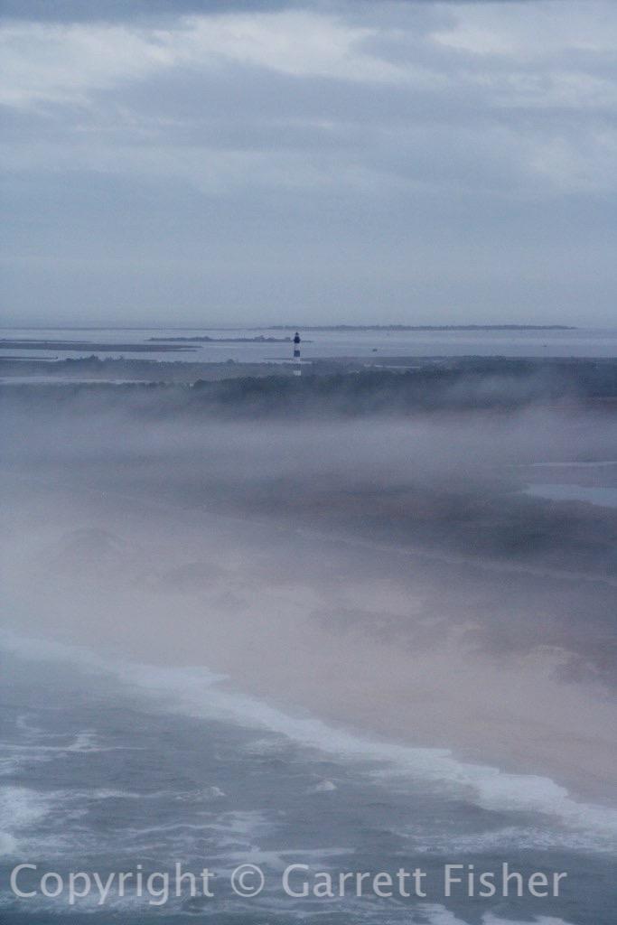 3-Bodie Island Lighthouse in Fog