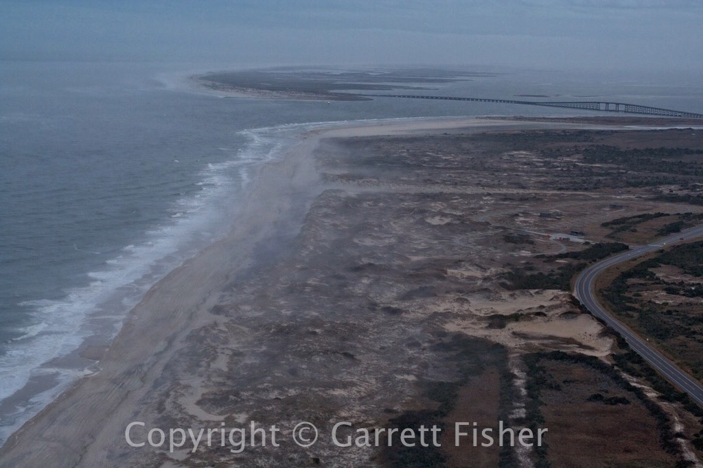 4-Oregon Inlet with Advection Fog