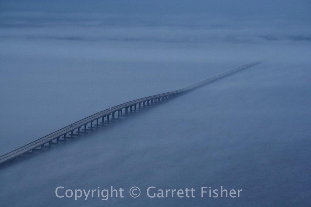 5-Roanoke Sound Bridge with Fog